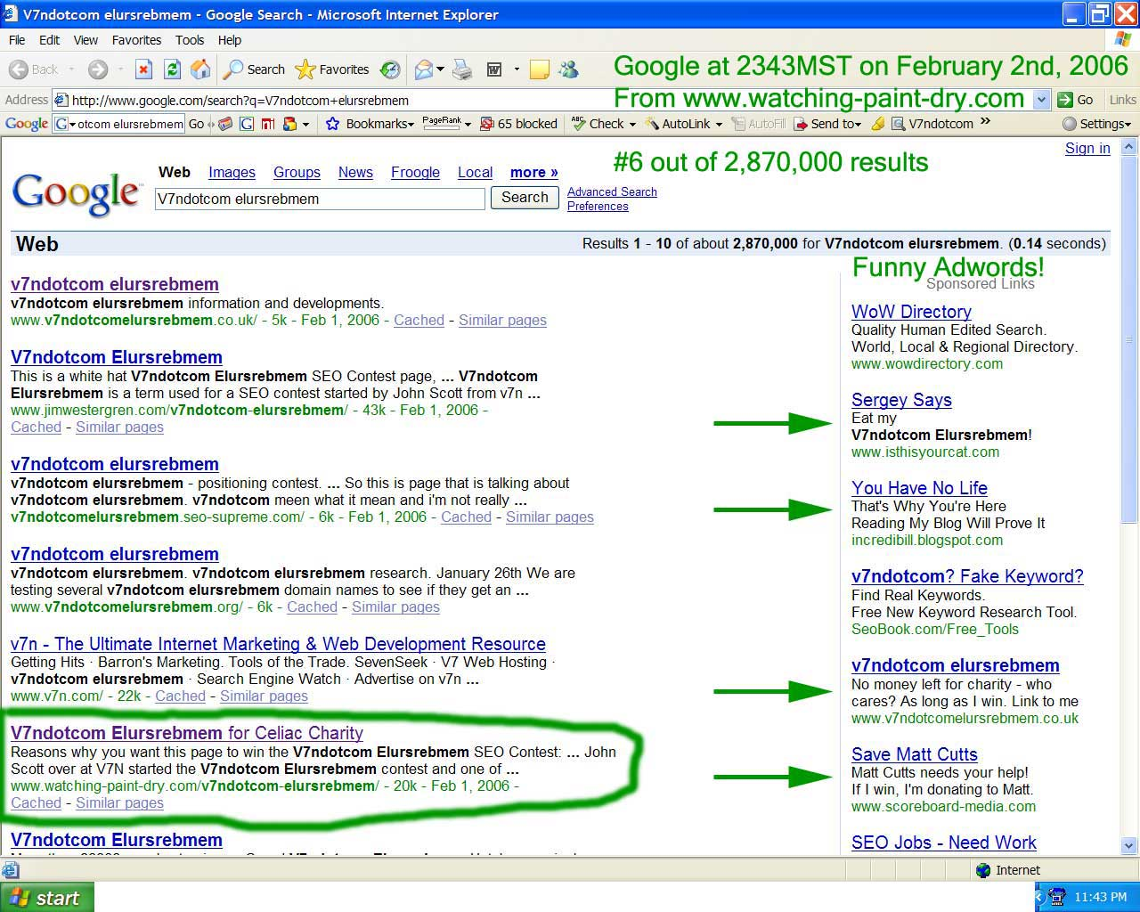 Some Really Funny Adwords